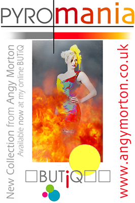 PYROMANIA COLLECTION at BUTiQ by Angy Morton